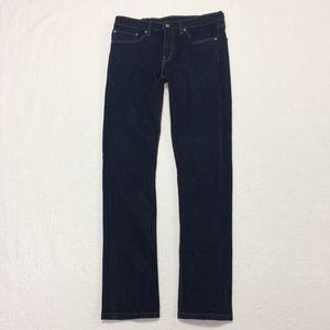 Levi's 511 W34 L34 Dark Denim Men's Straight Jeans